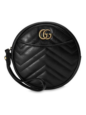 Gucci Gg marmont 2.0 round leather clutch