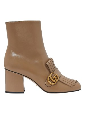 Gucci GG Marmont ankle boots