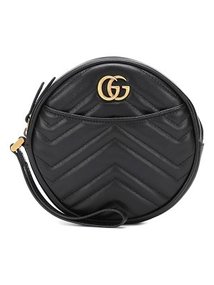 Gucci gg marmont small leather clutch