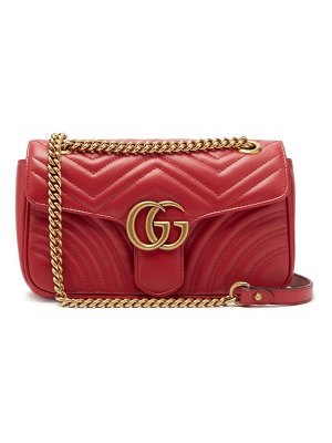Gucci gg marmont small quilted leather bag