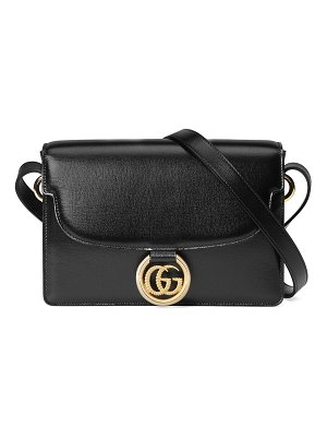 Gucci GG Ring Small Leather Crossbody Bag