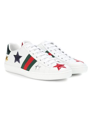 Gucci Gucci Ace leather sneakers