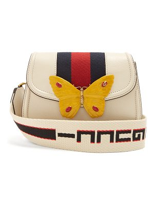 Gucci Gucci Totem small grained-leather cross-body bag