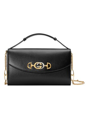 Gucci Gucci Zumi Smooth Leather Shoulder Bag