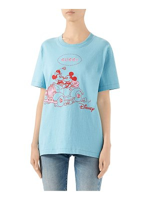 Gucci heavy cotton mickey mouse t-shirt