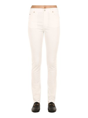 Gucci High rise cotton denim jeans