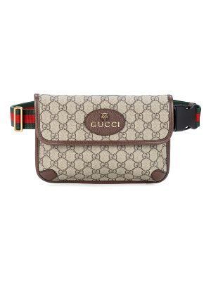 Gucci leather-trimmed belt bag
