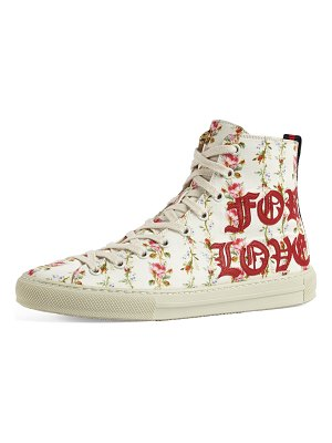 Gucci Major Blind For Love High Top Sneaker