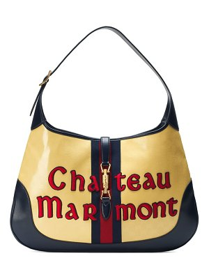 Gucci maxi jackie chateau marmont gg hobo