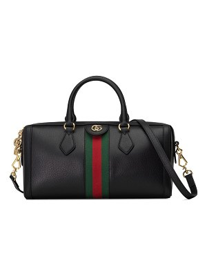 Gucci medium ophidia leather top handle bag