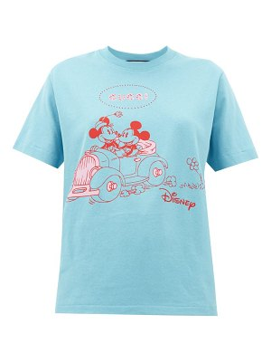 Gucci mickey mouse-print cotton t-shirt