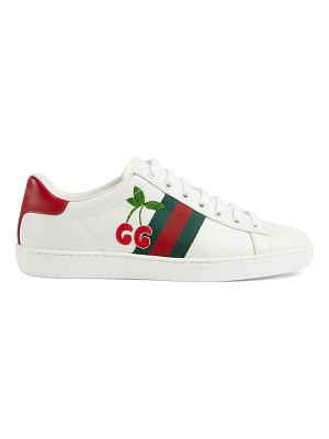 Gucci new ace cherry sneakers