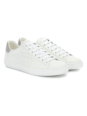 Gucci new ace leather sneakers