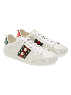 Gucci new ace low top sneaker