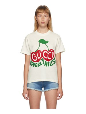 Gucci off-white beverly hills t-shirt