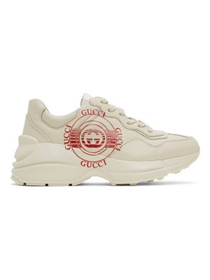 Gucci off-white rhyton sneakers