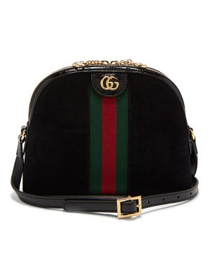 Gucci ophidia gg suede cross body bag