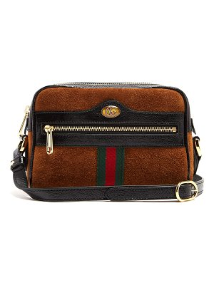 Gucci Ophidia Mini Suede Cross Body Bag