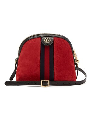 Gucci ophidia suede cross body bag