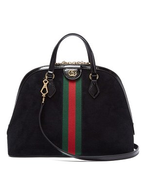 Gucci ophidia suede tote bag