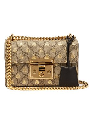 Gucci padlock gg supreme small cross body bag
