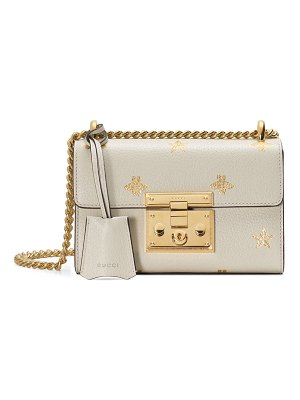 Gucci Padlock Mini Bee & Star Shoulder Bag