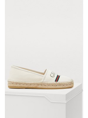 Gucci Pursuit Gucci print espadrilles