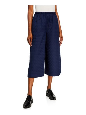Gucci Quilted Culotte Pants