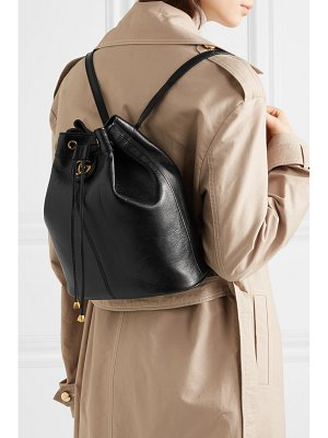 Gucci re(belle) medium convertible textured-leather bucket bag