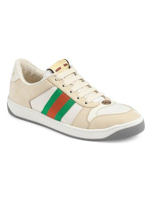 Gucci screener low top sneaker