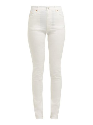 Gucci Slim Fit High Rise Jeans
