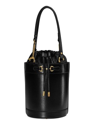 Gucci small 1955 horsebit leather bucket bag