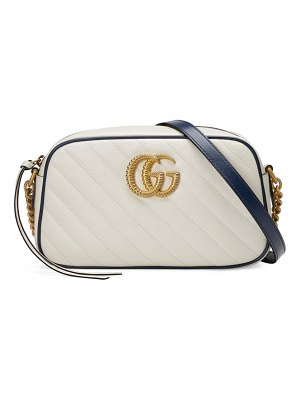 Gucci small gg 2.0 matelasse leather camera bag
