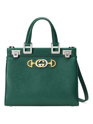 Gucci small zumi leather satchel