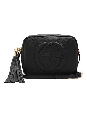 Gucci soho gg small leather cross body bag