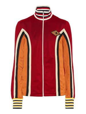 Gucci Striped jersey track jacket