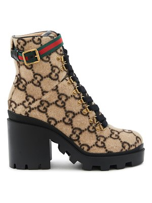 Gucci Trip GG ankle boots