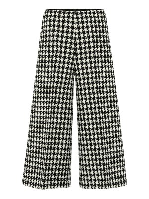 Gucci wool and cotton wide-leg pants