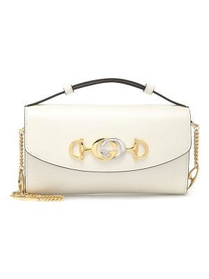 Gucci gucci zumi mini leather shoulder bag