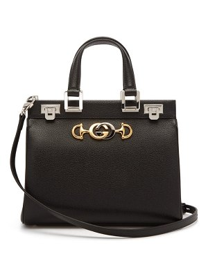 Gucci zumi small top-handle leather bag
