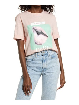 GUESS odette organic cotton graphic tee