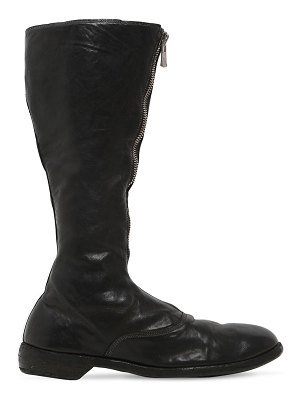 GUIDI 1896 20mm 410 zip-up leather army boots