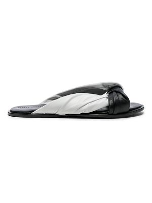 Haider Ackermann Leather Knotted Sandals
