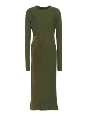 Haider Ackermann Long-sleeved midi dress