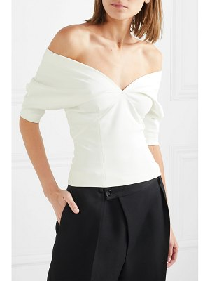 Haider Ackermann off-the-shoulder stretch-cady top