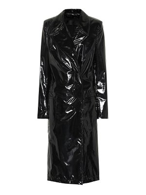 Haider Ackermann Vinyl coat