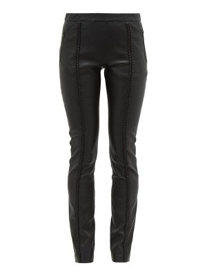 Haider Ackermann whipstitched leather trousers