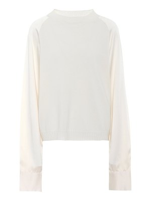 Haider Ackermann wool and cashmere top