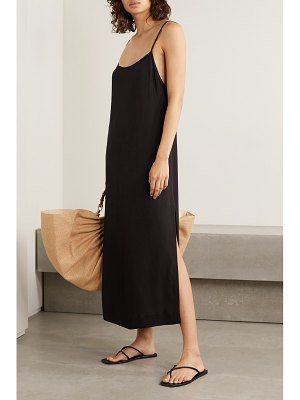 HAIGHT clara crepe midi dress