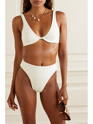 HAIGHT mah stretch-crepe underwired bikini - off-white